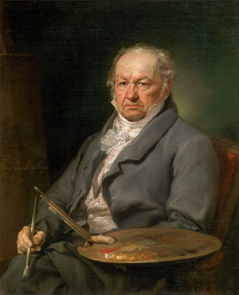 Imagen del pintor Francisco de Goya