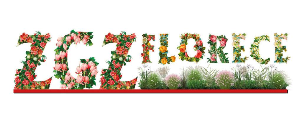 Logo florarl de Zaragoza Florece