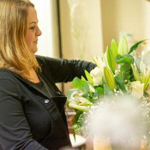Exposición floral de Myriam Aznar